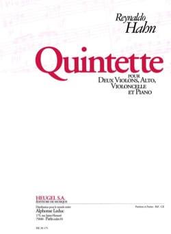 Reynaldo Hahn - Quintetto - Parti - Partitura - di-arezzo.it