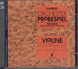 Boerries Karin / Wendt Artur - Orchester Probespiel CD, Bd. 1 - Violine - Sheet Music - di-arezzo.co.uk