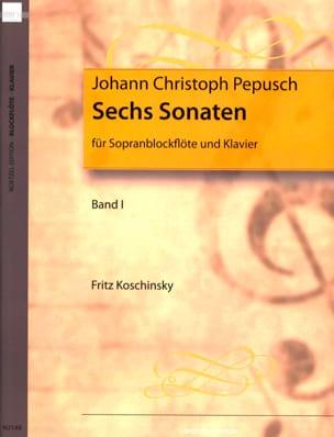 6 Sonates Volume 1 -sopranblockflöte U. Klavier laflutedepan