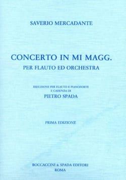 Concerto in mi maggiore - Flauto piano - laflutedepan.com