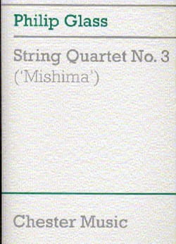 Philip Glass - String quartet No. 3 'Mishima' - Score - Sheet Music - di-arezzo.com