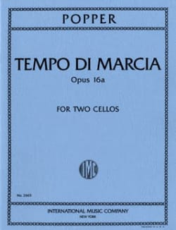 Tempo di Marcia op. 16a - 2 Cellos David Popper Partition laflutedepan
