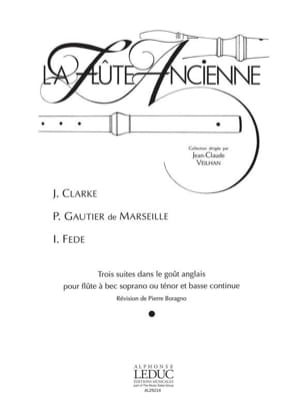 Clarke Jeremiah / Gautier de Marseille Pierre / Fede Innocenzo - 3 Suites in the English style - Sheet Music - di-arezzo.com