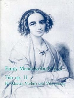 Fanny Hensel-Mendelssohn - Trio in D Minor Op.11 - Sheet Music - di-arezzo.co.uk