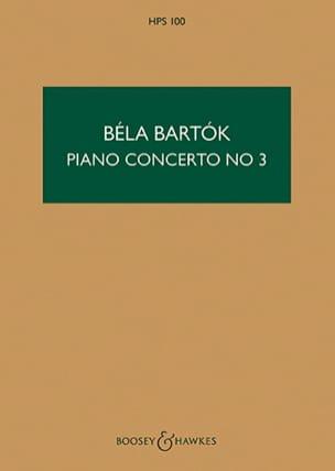 BARTOK - Concierto para piano N ° 3 - Partitura - Partitura - di-arezzo.es