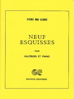 Pierre-Max Dubois - 9 Sketches - Sheet Music - di-arezzo.com