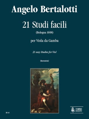 Angelo Bertalotti - 21 Studi Facili - Partitura - di-arezzo.it