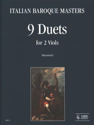 Auteurs Divers - 9 Duetti Per 2 Viole Da Gamba - Partition - di-arezzo.fr