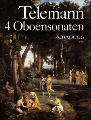 TELEMANN - 4 Oboensonaten - Sheet Music - di-arezzo.co.uk
