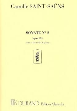 Camille Saint-Saëns - Sonate n° 2 op. 123 - Partition - di-arezzo.fr