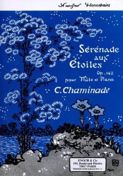 Sérénade aux Etoiles Op. 142 Cécile Chaminade Partition laflutedepan