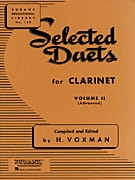 - Selected Duets for clarinet - Volume 2 - Sheet Music - di-arezzo.com