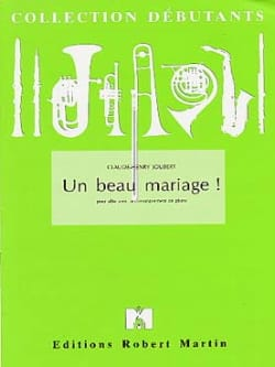 Claude-Henry Joubert - A beautiful wedding - Sheet Music - di-arezzo.com