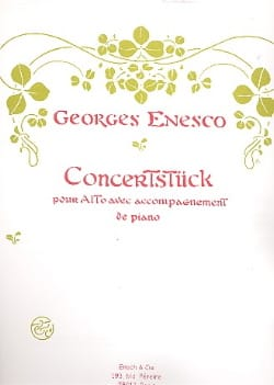 Georges Enesco - Concerstück - Sheet Music - di-arezzo.co.uk