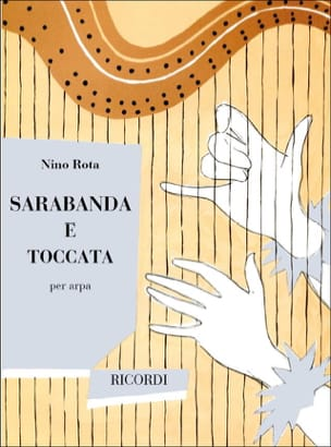 Sarabande et Toccata ROTA Partition Harpe - laflutedepan