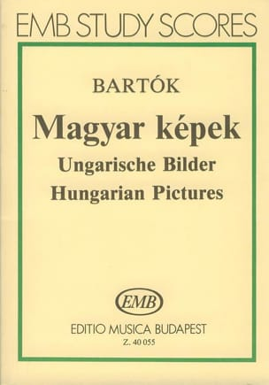 Magyar Képek - Partitur - BARTOK - Partition - laflutedepan.com