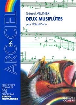 2 Musiflûtes Gérard Meunier Partition Flûte traversière - laflutedepan