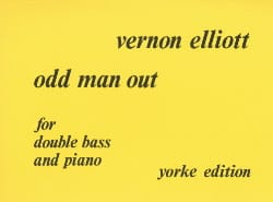 Vernon Elliott - Odd man out – Double bass - Partition - di-arezzo.fr