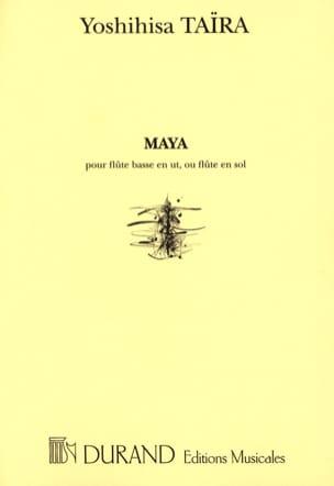 Maya Yoshihisa Taïra Partition Flûte traversière - laflutedepan