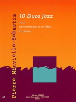 Pierre Minvielle-Sebastia - 10 Jazz Duos - Sheet Music - di-arezzo.co.uk
