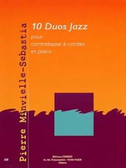 Pierre Minvielle-Sebastia - 10 Duos Jazz - Partition - di-arezzo.fr