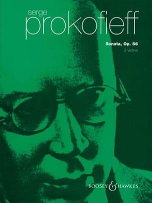 Serge Prokofiev - ソナタOp。56 2個のヴァイオリン - 楽譜 - di-arezzo.jp