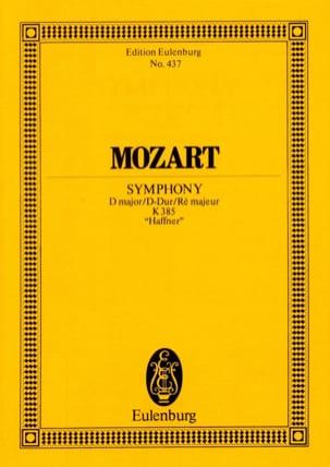 Symphonie Nr. 35 D-Dur Haffner KV 385 -partitur - laflutedepan.com