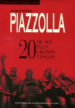 Astor Piazzolla - 20 Of his biggest Tangos - Sheet Music - di-arezzo.com