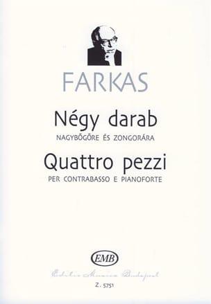 Ferenc Farkas - Quattro pezzi - Partition - di-arezzo.fr