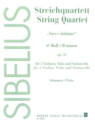 Streichquartett d-moll op. 56 -Stimmen Jean Sibelius laflutedepan