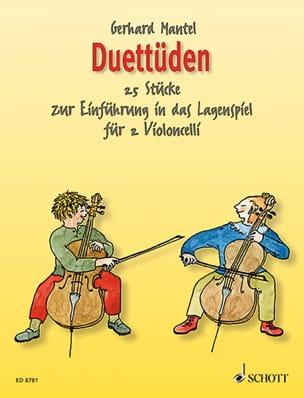 Gerhard Mantel - Duettüden - 2 Violoncelles - Partition - di-arezzo.fr