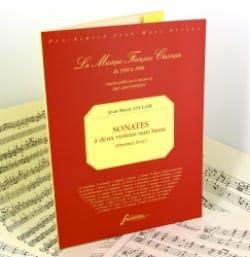 Jean-Marie Leclair - Sonates à deux Violons sans Basse - 1er Livre Op. 3 - Partition - di-arezzo.fr