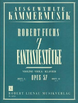 7 Fantasiestücke op. 57 –Heft 1 - Robert Fuchs - laflutedepan.com