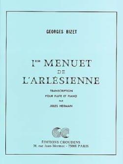 1er Menuet de L' Arlésienne - Flûte piano BIZET Partition laflutedepan