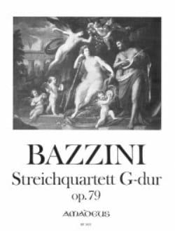 Streichquartett G-Dur op. 79 -Stimmen - laflutedepan.com