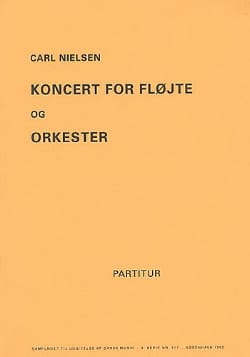 Carl Nielsen - Concerto For Flute And Orchestra - Conductor - Sheet Music - di-arezzo.co.uk
