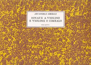 CORELLI - Sonata a violino e violone o cimbalo, op. 5 - Partition - di-arezzo.it