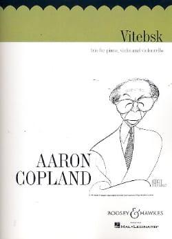 Aaron Copland - Vitebsk - Parts - Sheet Music - di-arezzo.com