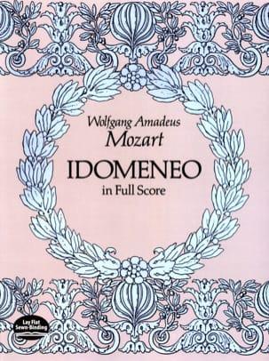 Wolfgang Amadeus Mozart - Idomeneo - Partition - di-arezzo.fr