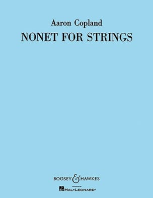 Nonet for strings - Parts COPLAND Partition Sextuors - laflutedepan