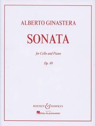 Alberto Ginastera - Sonata op. 49 - Sheet Music - di-arezzo.co.uk