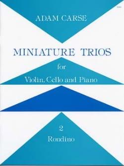 Miniature Trios 2. – Rondino - Adam Carse - laflutedepan.com
