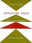 Adam Carse - Miniature Trios 3. - Carriage and Pair - Partition - di-arezzo.fr