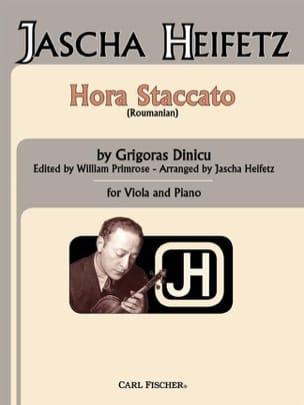 Dinicu Grigoras / Heifetz Jascha - Hora Staccato – Viola - Partition - di-arezzo.fr