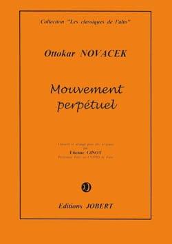 Ottokar Novacek - Perpetual Movement - Alto - Sheet Music - di-arezzo.com