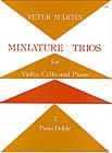 Peter Martin - Miniature Trios 2. - Paso Doble - Sheet Music - di-arezzo.com