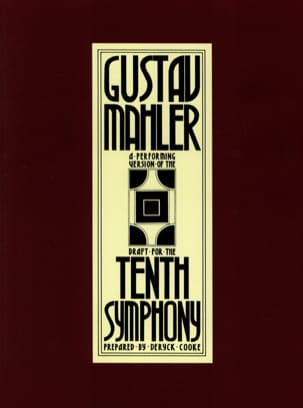 Gustav Mahler - 10th Symphony - Conductor - Sheet Music - di-arezzo.co.uk