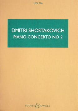 CHOSTAKOVITCH - Concerto Piano Nr. 2 op. 102 - Partitur - Sheet Music - di-arezzo.com