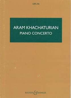 Aram Khatchaturian - Concerto Pour Piano - Score - Partition - di-arezzo.fr
