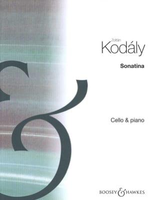 Zoltan Kodaly - Sonatine - Sheet Music - di-arezzo.com